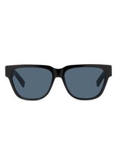 Christian Dior Dior Diorxtrem 57mm Square Sunglasses