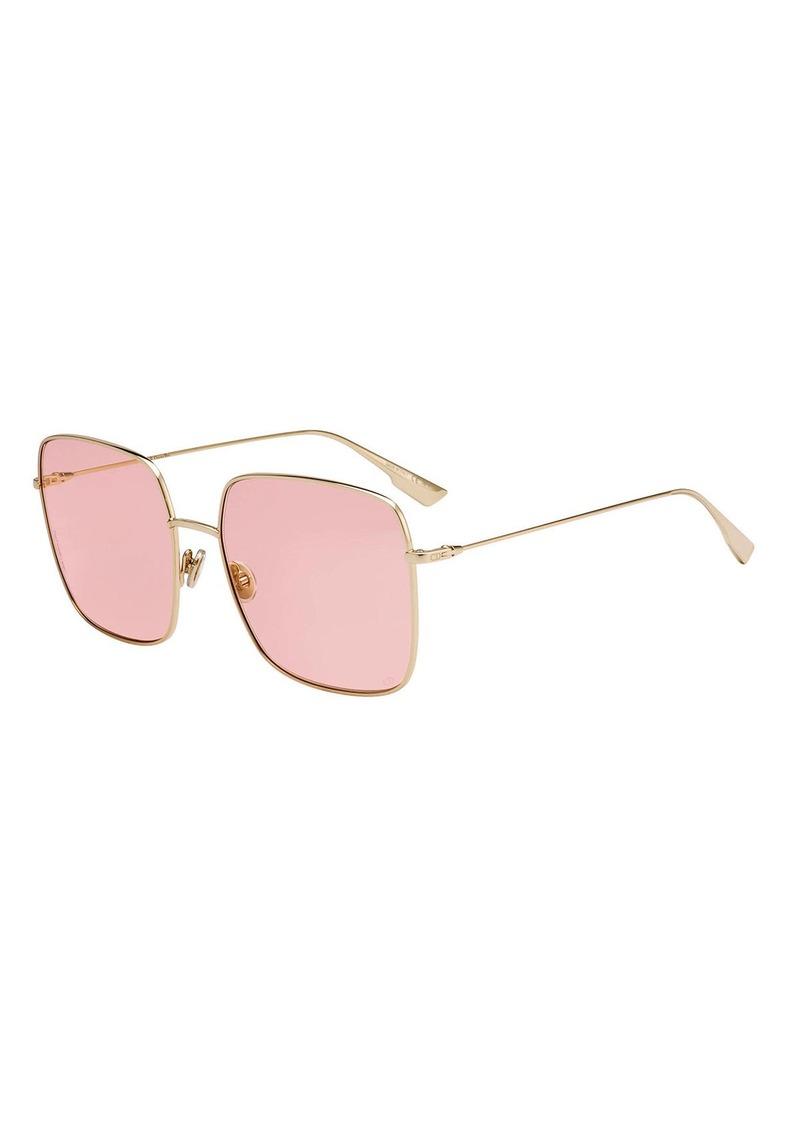 Christian Dior Dior Diostellaire1 Square Metal Sunglasses
