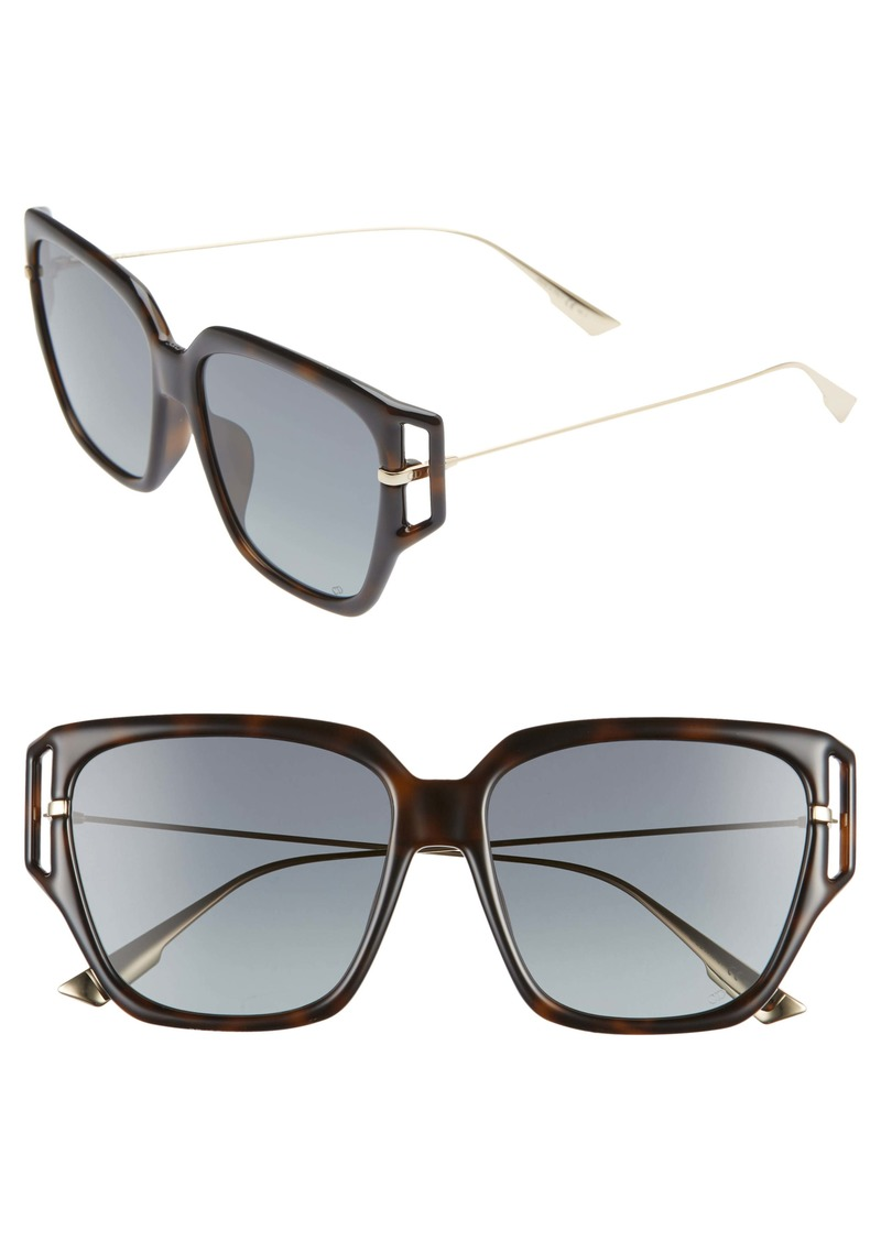 Christian Dior Dior Directi 58mm Special Fit Sunglasses