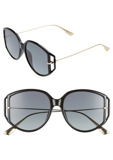 Christian Dior Dior Directio2S 54mm Oversize Sunglasses