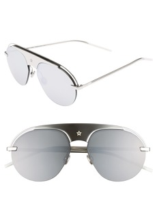 Christian Dior Dior Evolution 2 60mm Aviator Sunglasses
