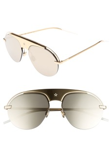 Christian Dior Dior Evolution 2 60mm Aviator Sunglasses