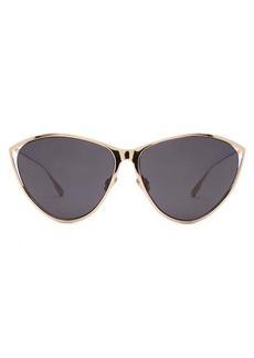 Christian Dior Dior Eyewear Cat-eye metal sunglasses