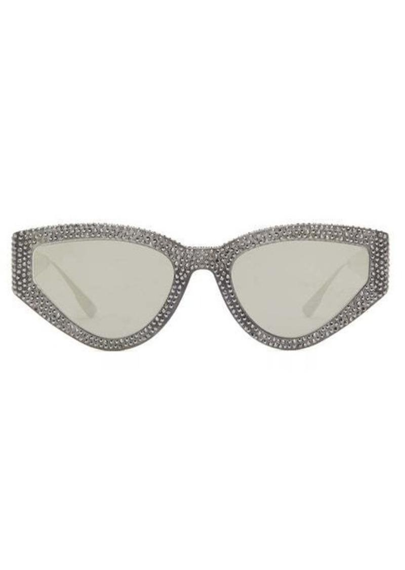 Christian Dior Dior Eyewear CatStyleDior1S crystal-studded cat-eye sunglasses