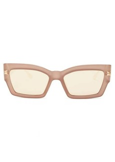 Christian Dior Dior Eyewear CatStyleDior2 mirrored rectangular sunglasses