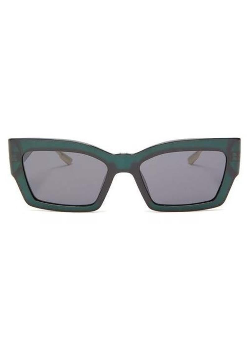 Christian Dior Dior Eyewear CatStyleDior2 rectangular acetate sunglasses
