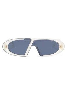 Christian Dior Dior Eyewear CD oval acetate sunglasses