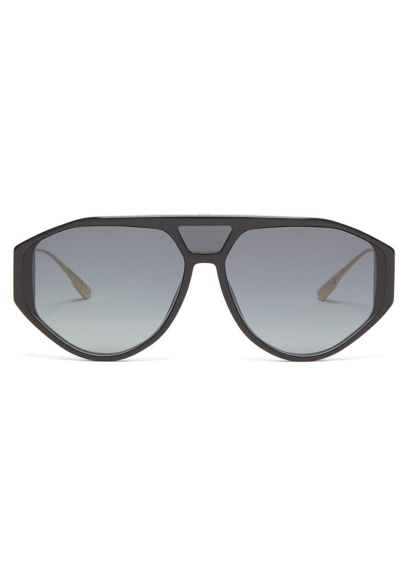 2560e74b68f3 On Sale today! Christian Dior Dior Eyewear Diorclan1 aviator acetate ...
