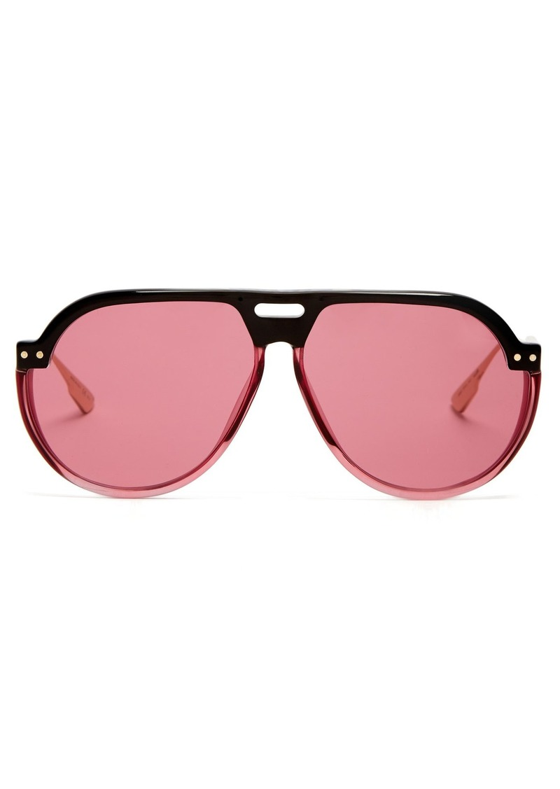 94ca0f61936 SALE! Christian Dior Dior Eyewear DiorClub3 aviator sunglasses