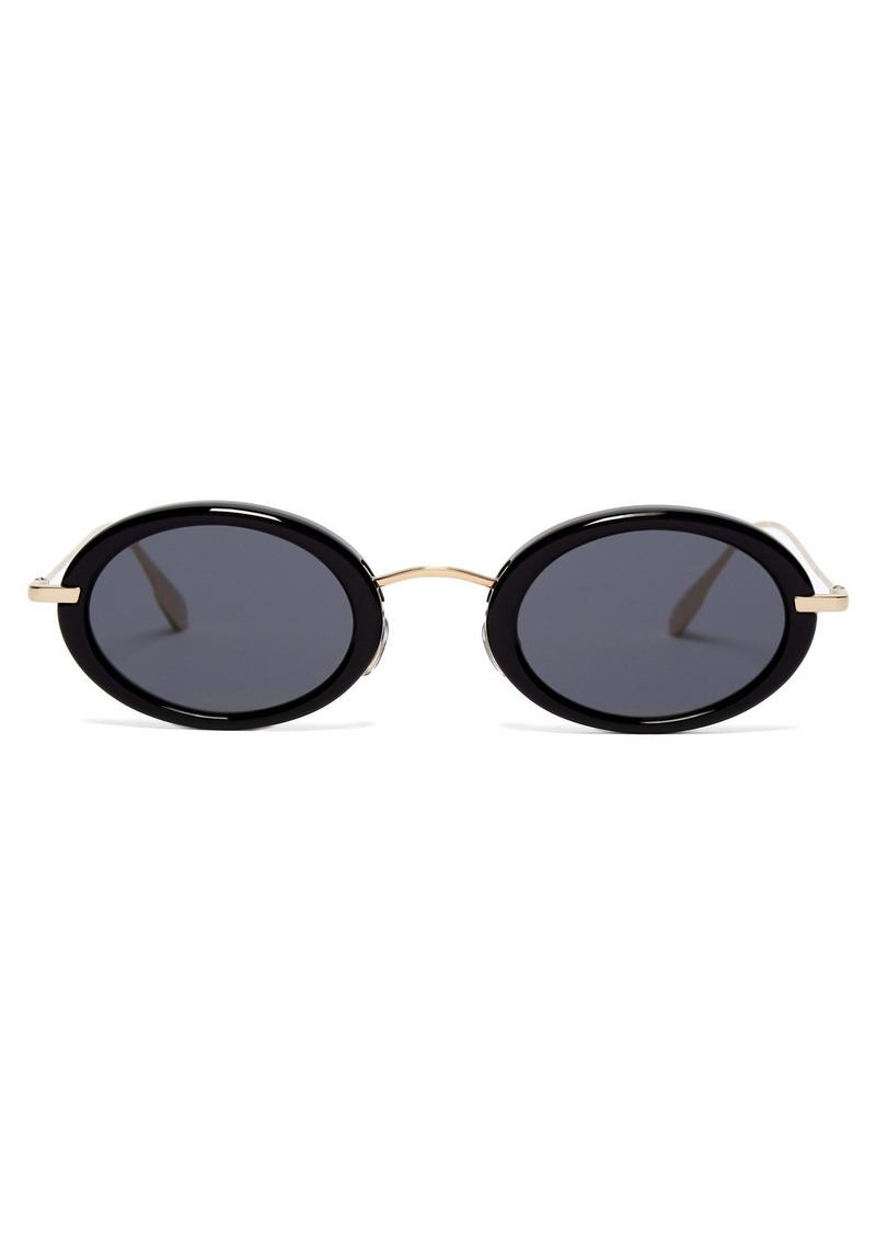 04d4751d44 Christian Dior Dior Eyewear DiorHypnotic2 oval acetate sunglasses ...