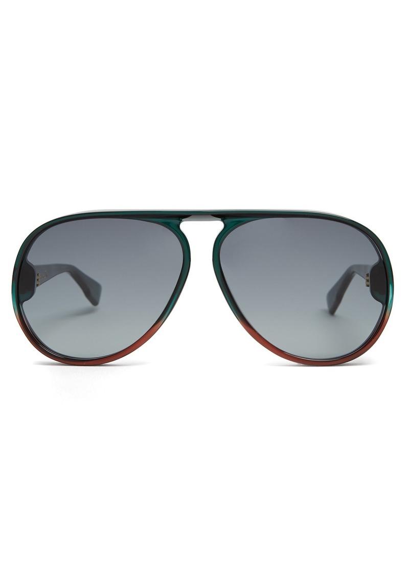 a8b6e79563 SALE! Christian Dior Dior Eyewear Diorlia aviator sunglasses