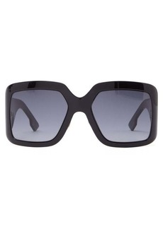Christian Dior Dior Eyewear DiorSoLight2 oversized square acetate sunglasses