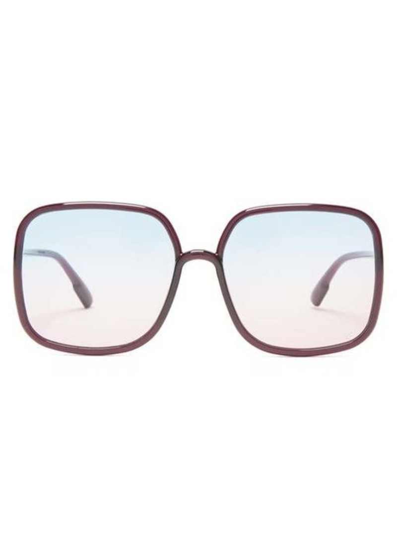 Christian Dior Dior Eyewear DiorSoStellaire1 square acetate sunglasses