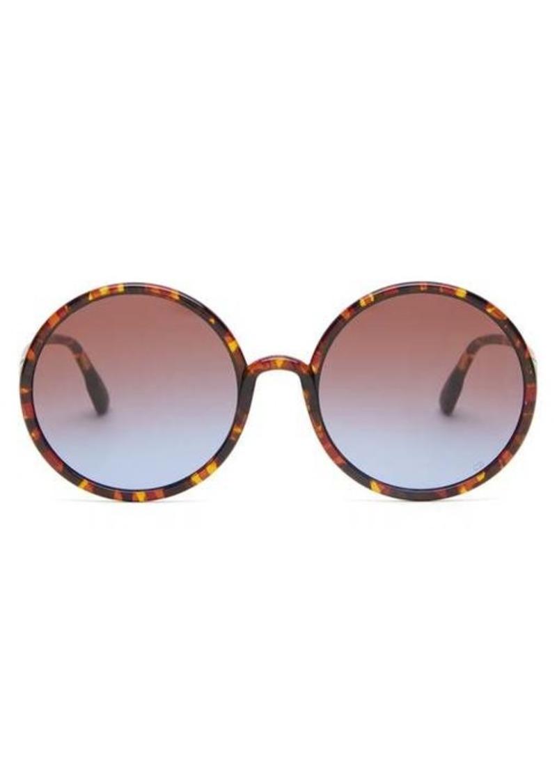 Christian Dior Dior Eyewear Diorsostellaire3 round acetate sunglasses