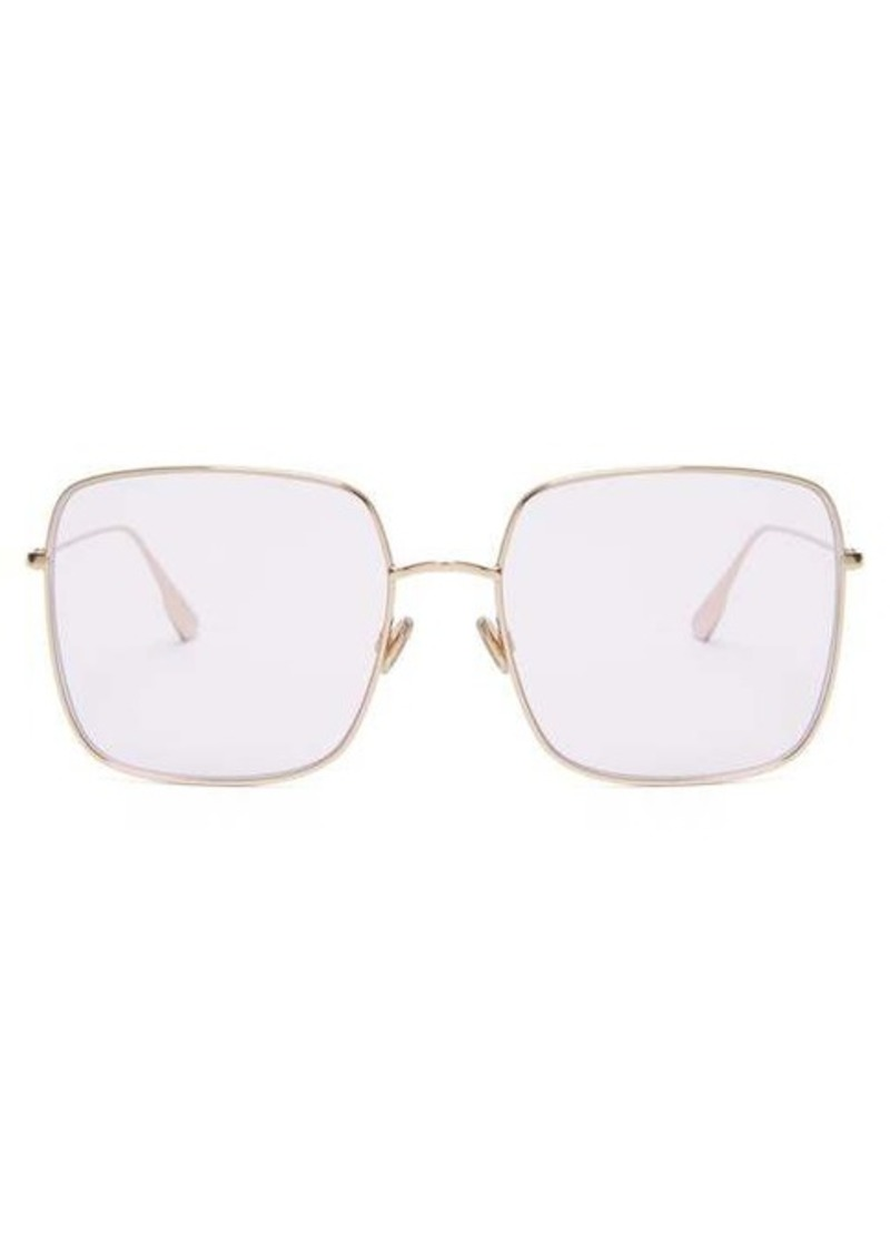 Christian Dior Dior Eyewear DiorStellaire iridescent square metal sunglasses