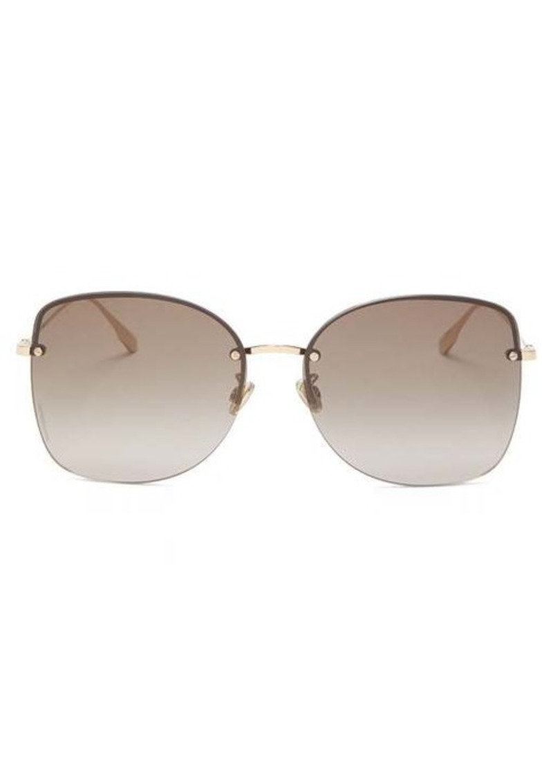 Christian Dior Dior Eyewear DiorStellaire square metal sunglasses