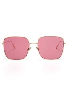 Christian Dior Dior Eyewear DiorStellaire square metal sunglasses