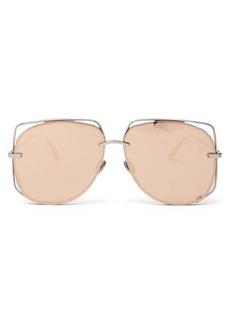 Christian Dior Dior Eyewear DiorStellaire6 metal aviator sunglasses
