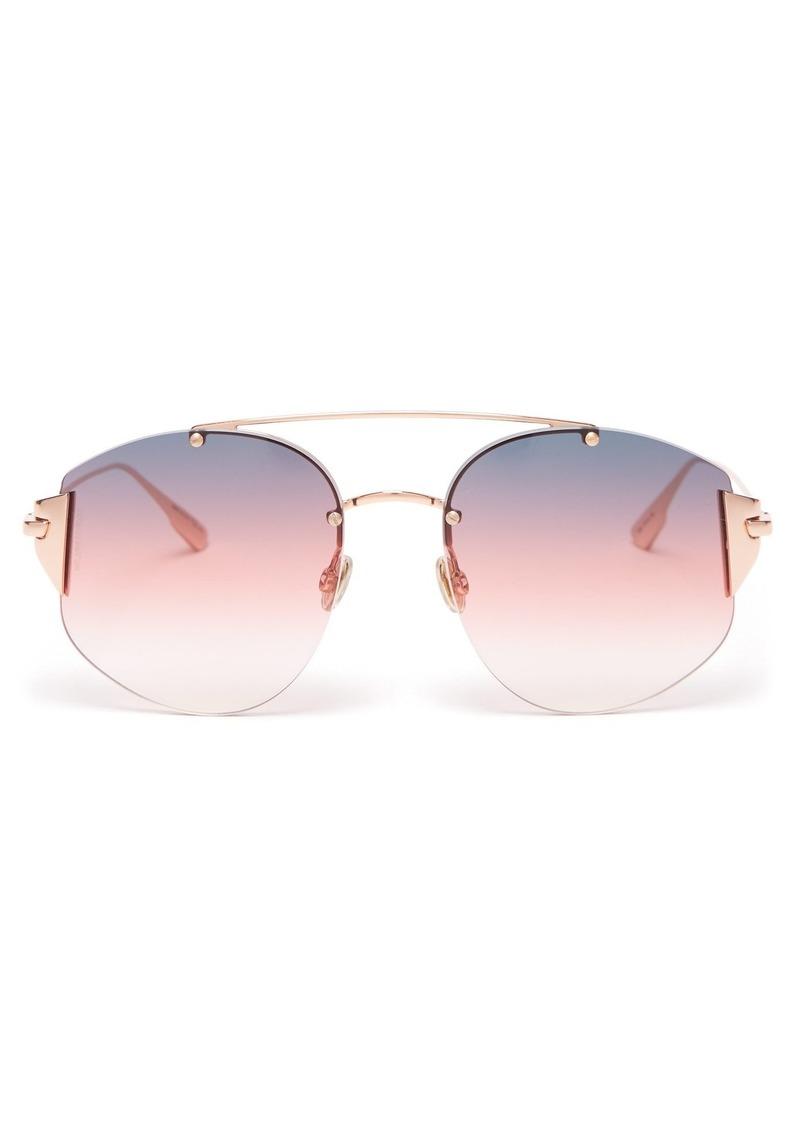 0865927f43f Christian Dior Dior Eyewear DiorStronger round-frame sunglasses ...