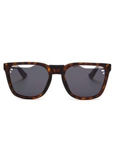 Dior Homme Sunglasses Fragmented-lens tortoiseshell acetate sunglasses