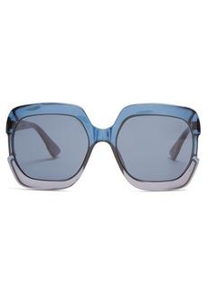 Christian Dior Dior Eyewear Gaia square-frame acetate sunglasses