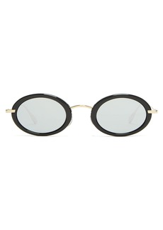 Christian Dior Dior Eyewear Hypnotic1 oval-frame sunglasses