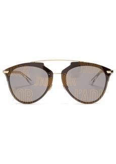 Christian Dior Dior Eyewear Reflected aviator sunglasses