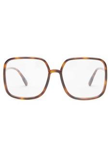 Christian Dior Dior Eyewear So Stellaire 1 square acetate glasses