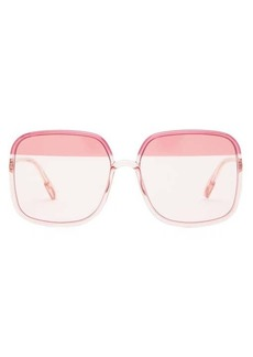 Christian Dior Dior Eyewear So Stellaire square acetate sunglasses