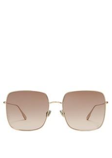 Christian Dior Dior Eyewear Stellaire1 square metal sunglasses