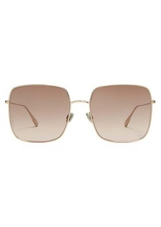 Christian Dior Dior Eyewear Stellaire1 square metal sunglasses