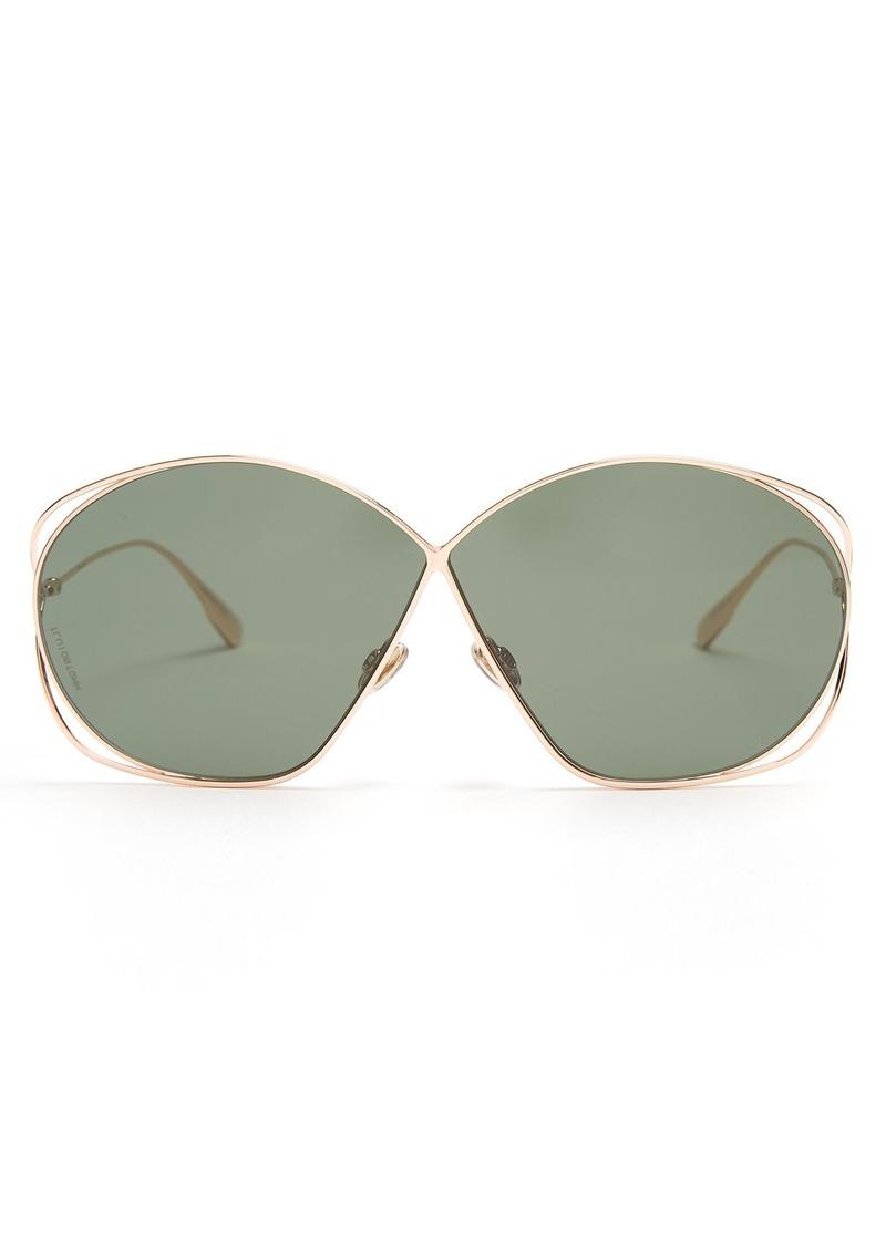18839911e29 SALE! Christian Dior Dior Eyewear Stellaire2 oversized metal sunglasses