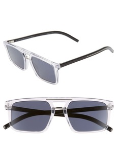 Christian Dior Dior Homme Black Tie 54mm Sunglasses