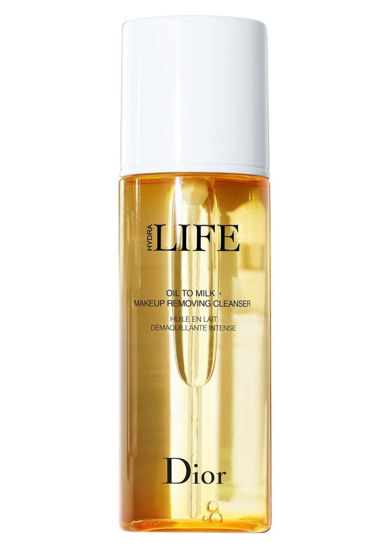 Christian Dior Dior Hydra Life Oil to Milk Makeup Removing Cleanser
