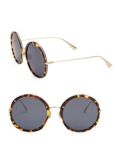 Christian Dior Dior Hypnotic1 56MM Round Sunglasses