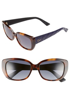 Dior 'Lady' 55mm Retro Sunglasses