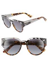 881ccb66b2 ... Christian Dior Dior Lady Dior 52mm Cat Eye Sunglasses ...