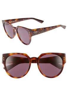 Christian Dior Dior Lady Dior 54mm Special Fit Polarized Cat Eye Sunglasses