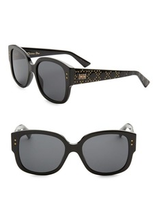 Christian Dior Lady Dior Studs 54MM Square Sunglasses