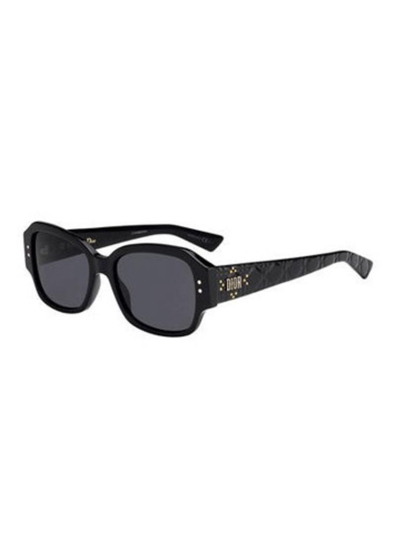 Christian Dior Dior Lady Dior Studs Rectangle Sunglasses