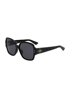 Christian Dior Dior Lady Dior Studs Square Sunglasses