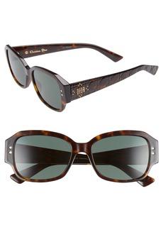 Christian Dior Dior Ladydiorstuds5 54mm Sunglasses