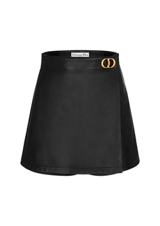 Christian Dior Dior Leather Skort