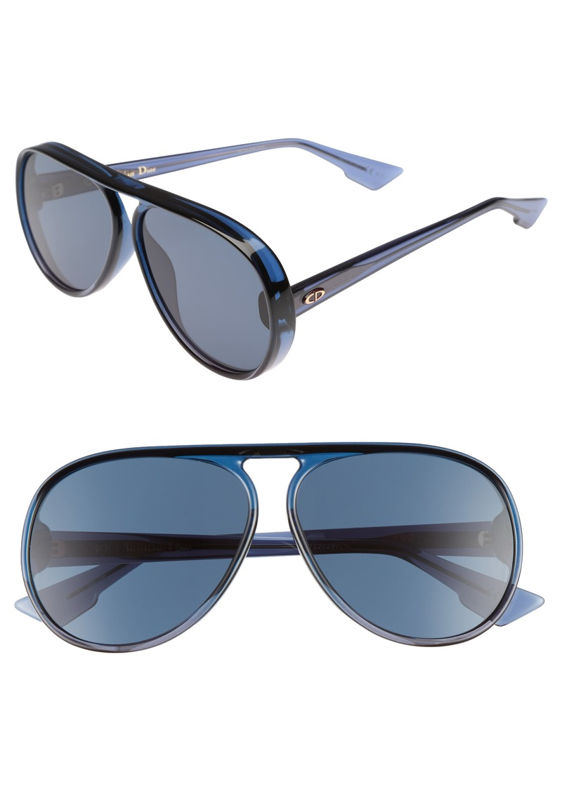ca6cc777d4166 Christian Dior Dior Lia 62mm Oversize Aviator Sunglasses