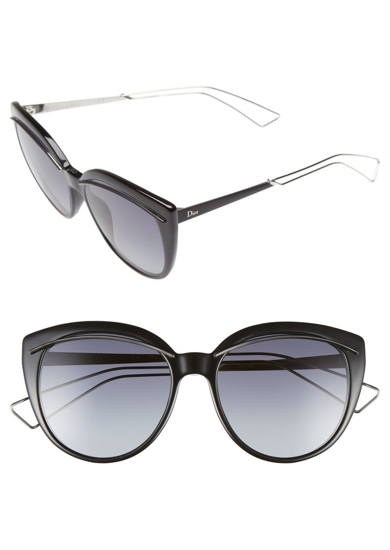dd77255d1a Christian Dior Dior  Liner  56mm Cat Eye Sunglasses Now  99.97