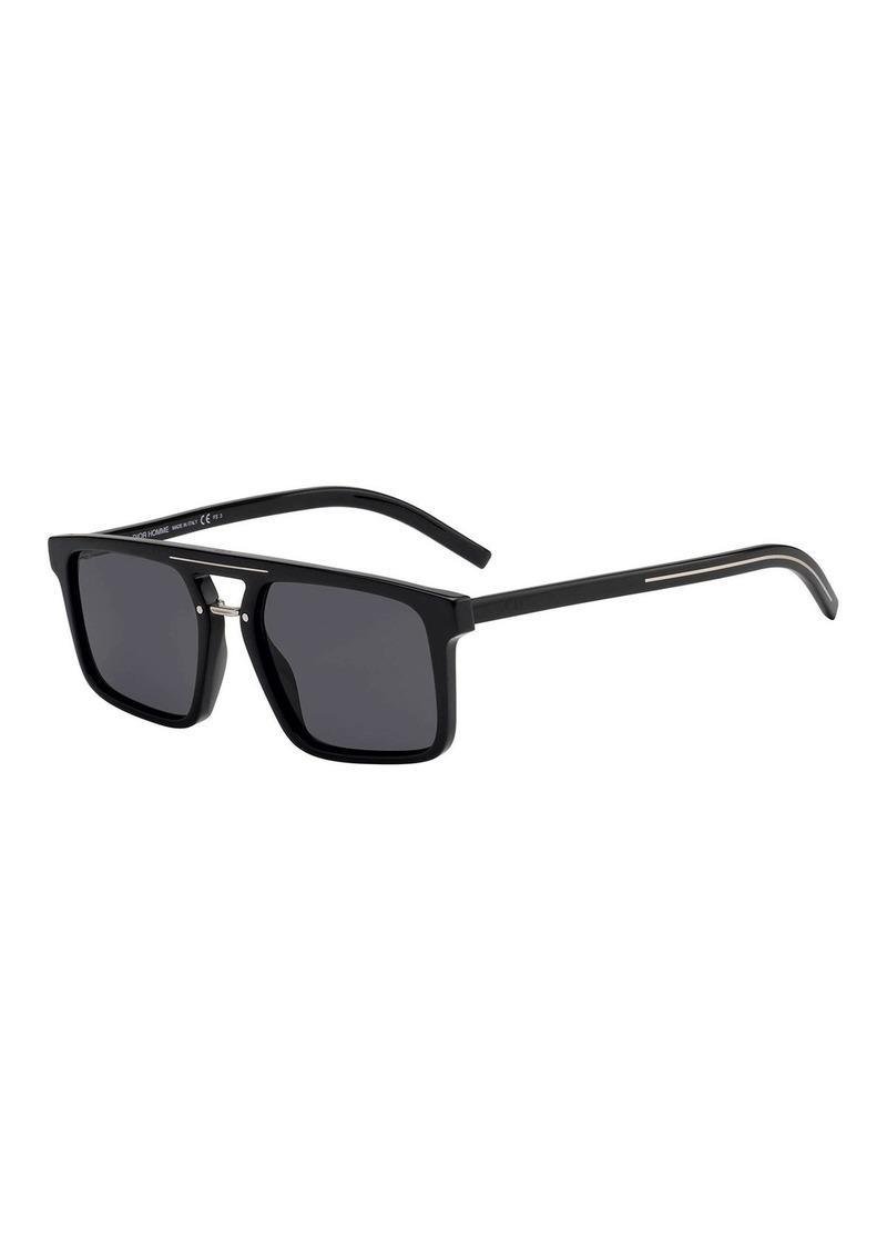 5b5204390299 Christian Dior Dior Men's Black Tie Acetate Sunglasses with Metal Bridge