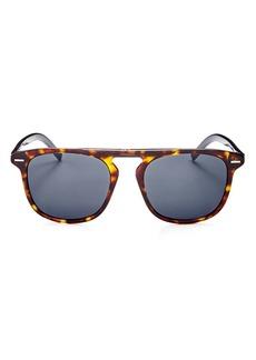 Christian Dior Dior Men's Black Tie Flat Top Square Sunglasses, 51mm