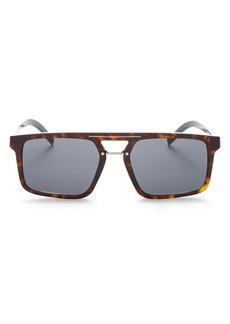 Christian Dior Dior Men's Black Tie Square Sunglasses, 54mm
