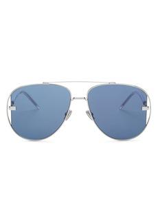 Christian Dior Dior Men's Brow Bar Aviator Sunglasses, 58mm