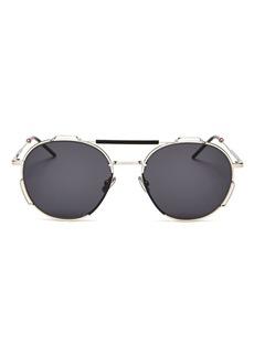 Christian Dior Dior Men's Brow Bar Round Sunglasses, 54mm